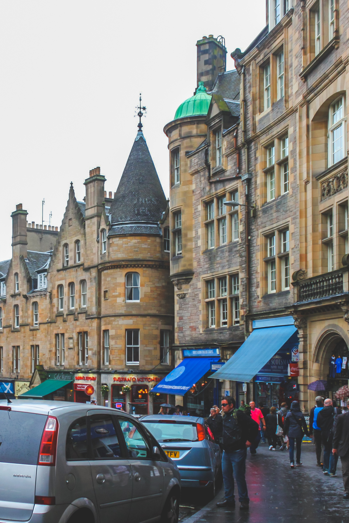 A Weekend in Edinburgh, Scotland and Newcastle, England