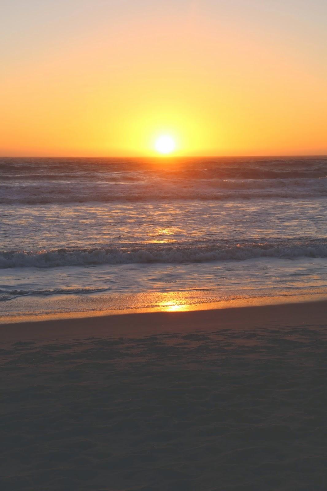 A Beautiful Sunset in Santa Monica, California
