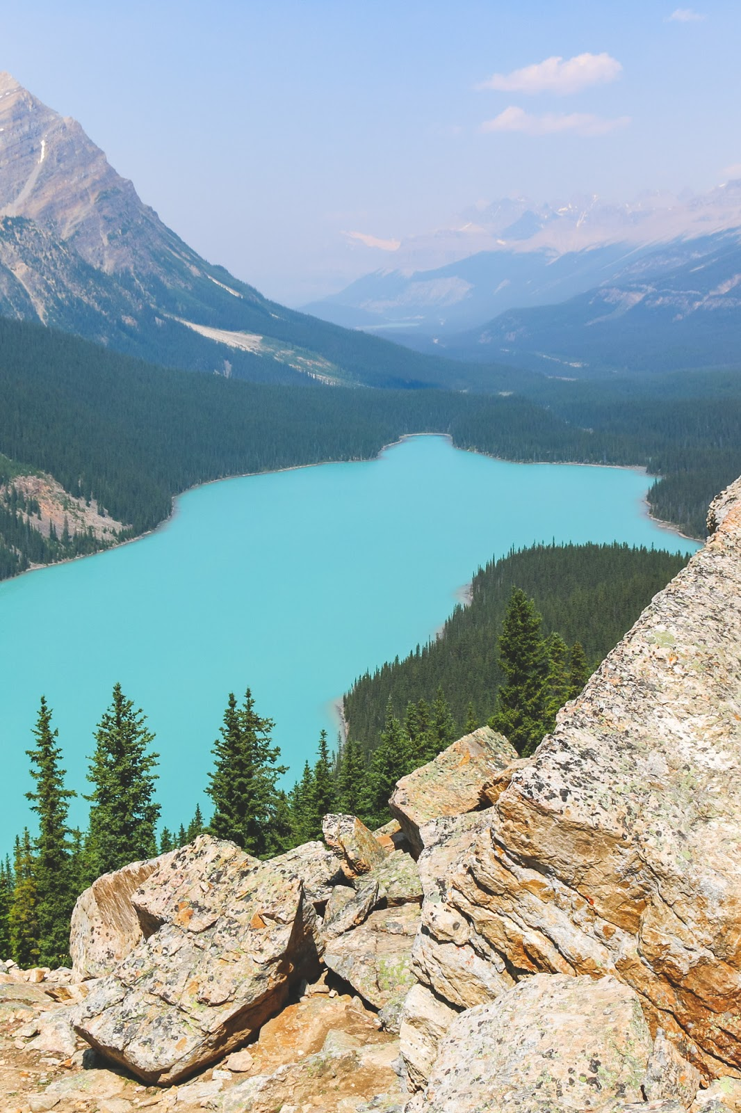 The Best View of Peyto Lake // Banff National Park